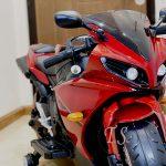 موتور شارژی قرمز بزرگ
