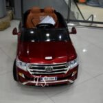 ماشین شارژی لندکروز قرمز13