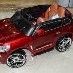 ماشین شارژی لندکروز قرمز15