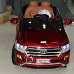 ماشین شارژی لندکروز قرمز18
