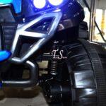 جیپ شاسی بلند 6 موتوره متالیک