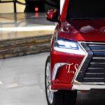 ماشین شارژی لکسوس2 lx570 قرمز