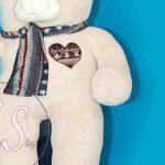 خرید خرس یک و نیم متری