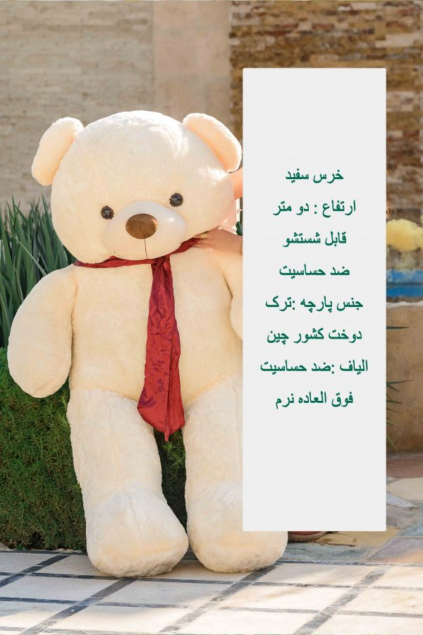 خرس دو متری پاپیون دار