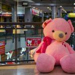 خرس صورتی ۲ متری