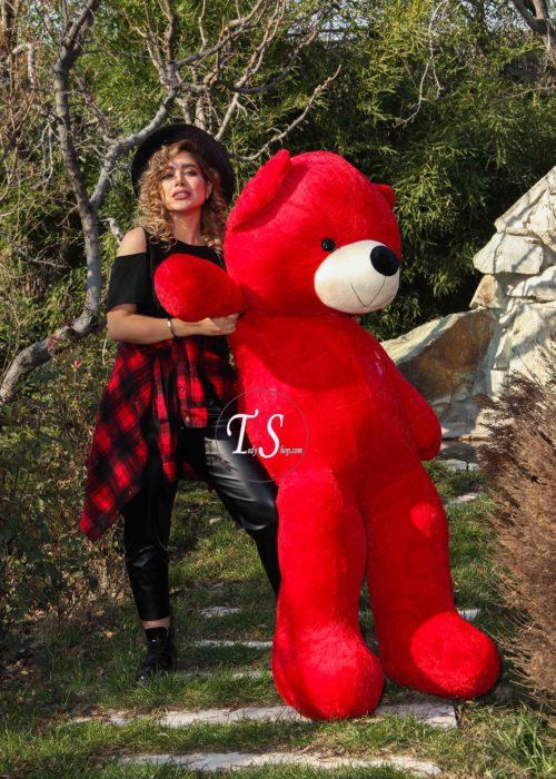 خرس بامزه قرمز بزرگ دو م